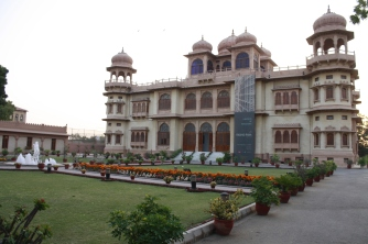 Visit to Mohatta Palace for the exhibition of Rashid Rana works...